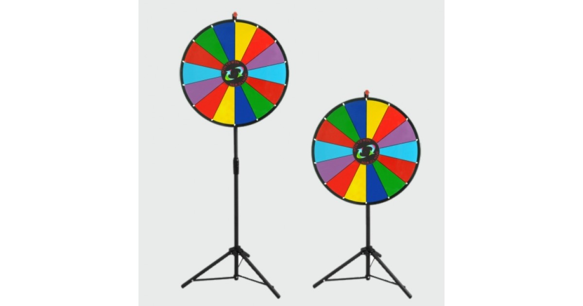 Spin & Win Tripod Set